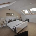 A new bedroom via a loft conversion